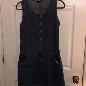PACIFIC TRAILS JEANS DRESS With TWO SIDE POCKETS
